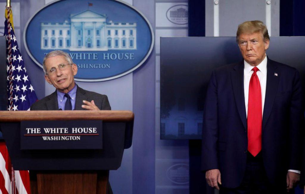 Anthony Fauci & Donald J Trump