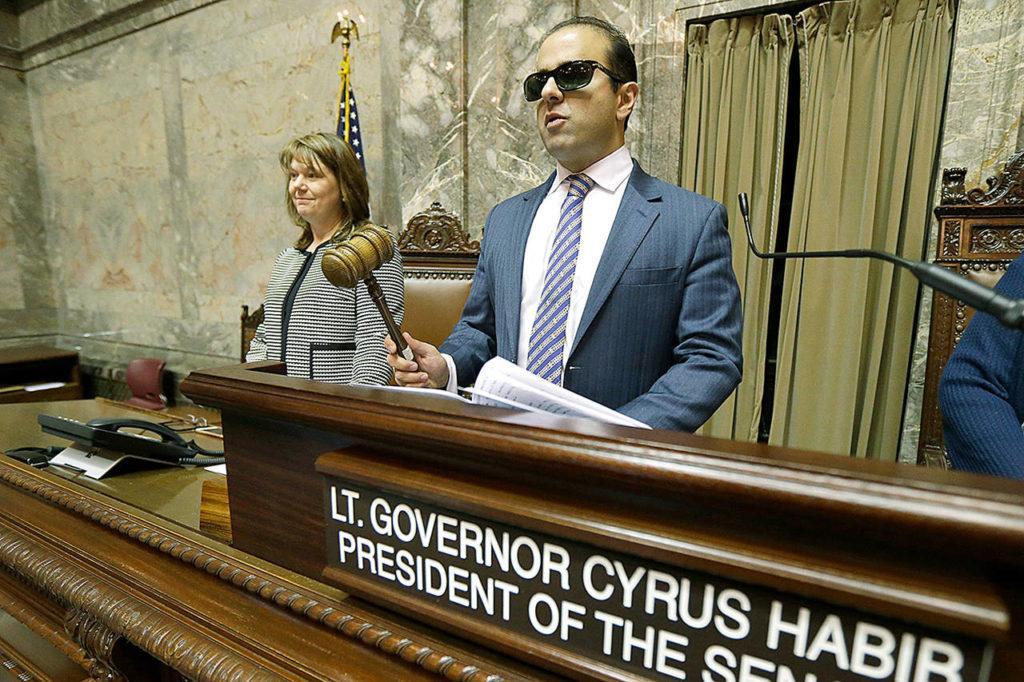 Cyrus Habib President Senate WA