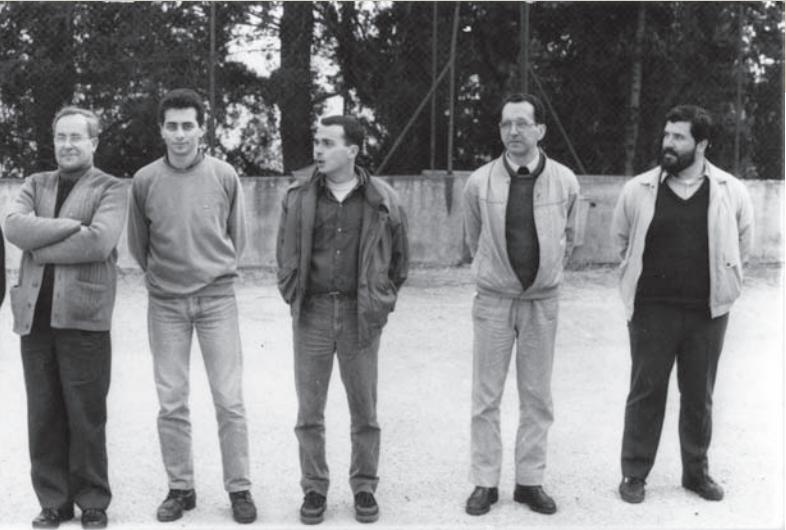 Pères de la communauté de Jamhour Février 1988